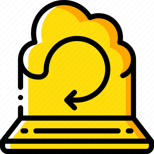 backup, data, disaster, recovery, remote, restore icon