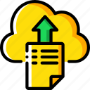 backup, cloud, data, disaster, recovery, upload icon