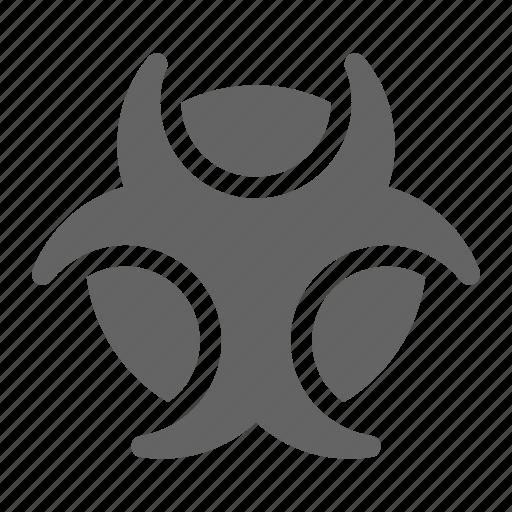 biohazard, danger, toxic icon