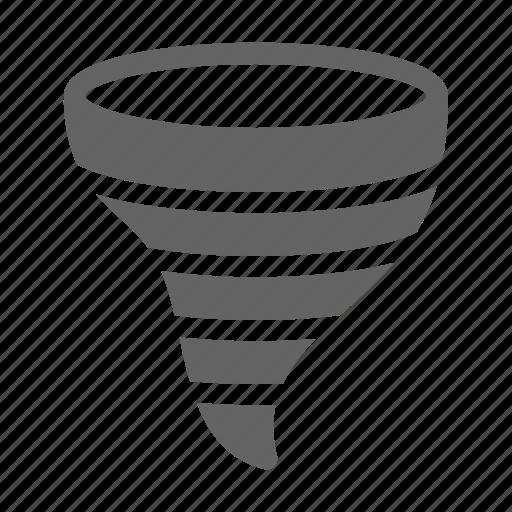 cyclone, hurricane, tornado, twister icon