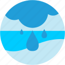 cloud, disaster, rain, raindrop, storm, waterdrop icon