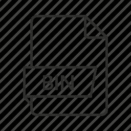 .bin, bin, bin file, bin icon, binary, binary disc, binary disc image icon