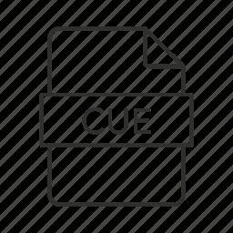 .cue, .cue file, .cue icon, cue, cue file, cue sheet, cue sheet file icon