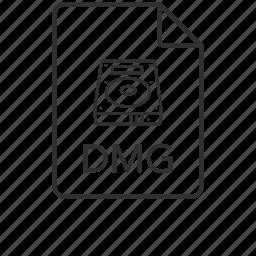 dmg, dmg file, dmg icon, mac, mac os x disk, mac os x disk image icon