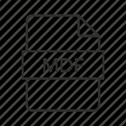 .mdf, .mdf file, .mdf icon, mdf, mdf file, media disc image, media disc image file icon