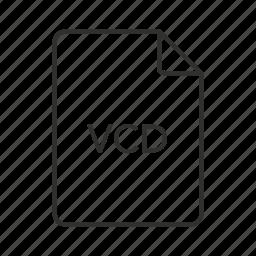 .vcd, vcd, vcd file, vcd icon, virtual cd, virtual cd file, virtual cd icon icon