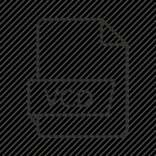 .vcd icon, cd, vcd file, vcd icon, virtual cd, virtual cd file, virtual cd icon icon