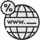 black friday, discount, domain, hosting, offer, sale, website icon