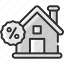 black friday, discount, home, house, offer, real estate, sale icon
