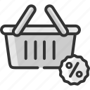 bag, basket, black friday, cart, discount, sale, shopping icon
