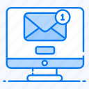 electronic mail, electronic message, email, mail, written correspondence