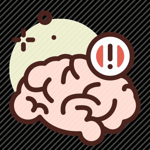 brain, health, illness, medical, signal icon