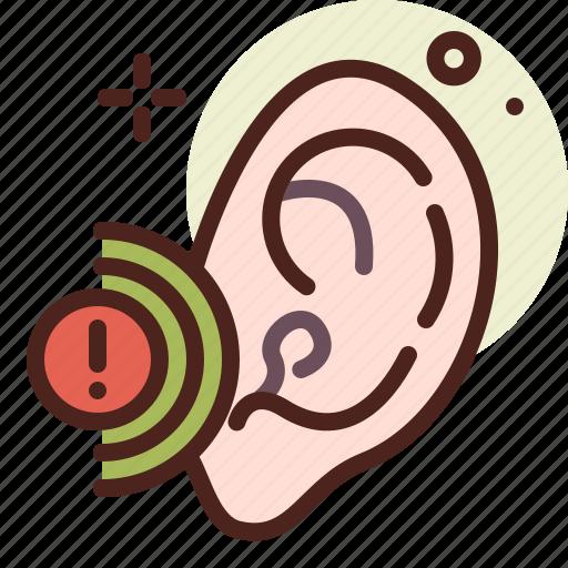 ear, health, illness, medical, problem icon