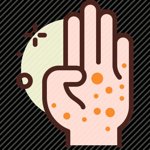 health, illness, medical, skin icon