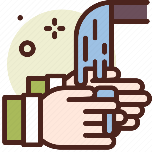 corona, covid, hands, health, illness, medical, washing icon