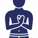 attack, chest, disease, heart, pain icon