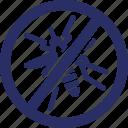 anti, killer, dengue fever, malaria, aedes icon