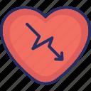 attack, cardiac, cardio, disease, heart disease icon