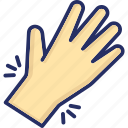 arthritis, carpal, fracture, injury, pain icon
