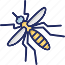 aedes, carrier, contagious diseases, dengue, insect icon