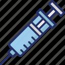 cure, drug, injection, medication, medicine icon