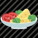 healthy salad, insalata caprese salad, organic food, salad for dinner, weight loss diet icon