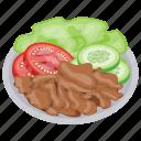 chicken sausage salad, italian sausage salad, sausage salad, sausage salad german icon