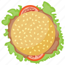 beef burger, beef burger patty, grilled patty burger, homemade beef burgers, patty sandwich icon