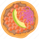 apple pie, backed, fresh, tart, top icon