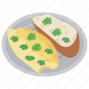 ciabatta, garlic bread, garlic bread toast, homemade garlic bread, italian food icon
