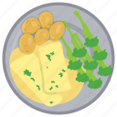 broccoli with cheese, cheese sauce for broccoli, green giant, roasted broccoli, weight loss icon