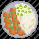 chicken nanban, chicken nuggets, cuisine, fast food, snacks icon