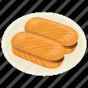 french bread, hot dog sandwich, hot dog sandwich bread, italian food, sandwich bread icon