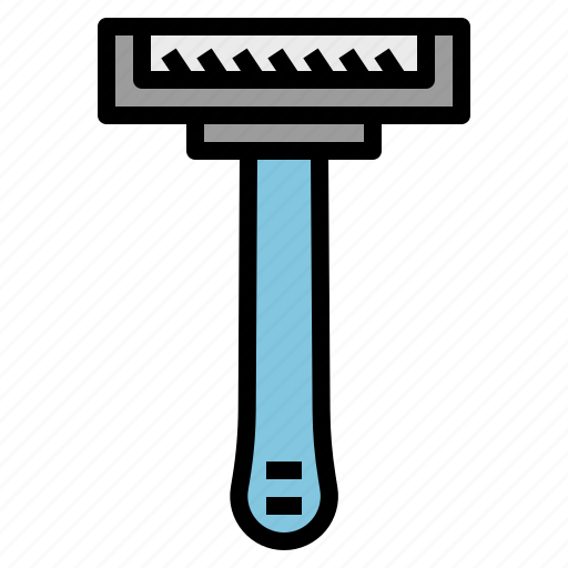 beauty, disposable, hair, razor, removal icon