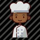 african, avatar, baker, boy, diversity, people, profession