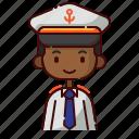 african, avatar, boy, captain, diversity, people, profession