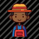 african, avatar, boy, diversity, farmer, people, profession