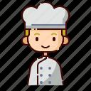 avatar, baker, blonde, boy, diversity, people, profession