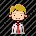 avatar, blonde, boy, diversity, employer, people, profession