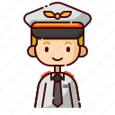 avatar, blonde, boy, diversity, people, pilot, profession