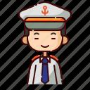 avatar, boy, captain, chinese, diversity, people, profession