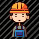 avatar, boy, chinese, diversity, engineer, people, profession
