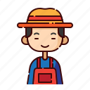 avatar, boy, chinese, diversity, farmer, people, profession