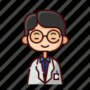 avatar, boy, chinese, diversity, people, profession, professor