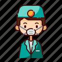 avatar, boy, dentist, diversity, man, people, profession icon