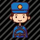 avatar, boy, diversity, driver, man, people, profession