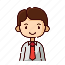 avatar, boy, diversity, employer, man, people, profession icon