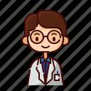 avatar, boy, diversity, man, people, profession, professor