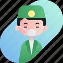 avatar, boy, chinese, dentist, diversity, people, profession icon