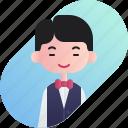 avatar, boy, chinese, diversity, people, profession, waitress